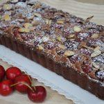 Crostata frangipane con ciliegie e cioccolato